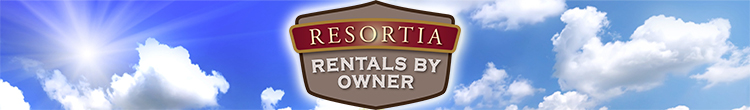 Resortia Rentals By Owner Logo